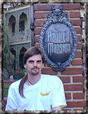 Al at the DL Haunted Mansion