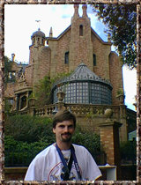 Al at the WDW Haunted Mansion, 11/99
