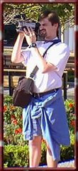 Al with camcorder at WDW, 11/99